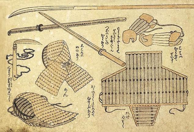 Оружие и доспехи для будзютсу