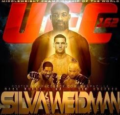 Anderson Silva vs Khris Weidman