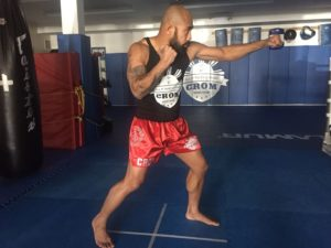 Футворк в тайском боксе